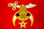 Shriner Flag, Historical Flag Egyptian Freemason