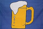 Beer Flag, Fun Flag, Party Flag, Novelty Flag, Beer Fahne, Beer Flagge
