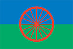 Gypsy Flag, Sinti and Roma Flag, Modern Travellers Flag