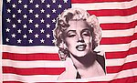 Marylin Monroe Flag on USA