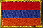 Armenia fkag Patch, Country Patch Armenia, flag patch armenia, iron on patch armenia