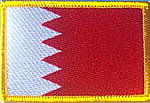 Bahrain Flag Patch, Country Patch Bahrain,Iron on Patch Bahrain