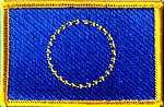 Europe Flag patch, iron on patch Europe, European identifications patch, Europa fahne