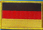 German Flag Patch, Country patch Germany, Iron on Patch Germany