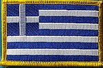 Greece flag patch,Country Flag Greek, Greece flag patch