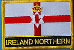 Ireland North flag patch , iron on patch Ireland North