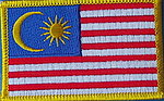 Malaysia Patch, Flag Patch Malaysia, Country patch Malaysia