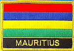 Mauritius flag patch, country patch mauritius, mauritius identifications patch