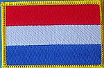Netherlands Flag Patch, Iron on patch netherlands, The Netherlands country patch, Dutch Patch, Holland Patch