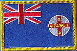 New South Wales flag patch, iron on patch NSW