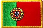 Portugal Flag Patch, Country patch Portugal, portugal iron on patch