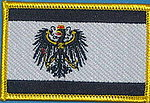 Prussia Flag Patc, iron on patch Prussia, prussia country patch