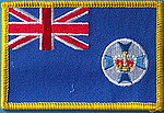 Queensland State of Australia flag patch, QLD Iron on patch