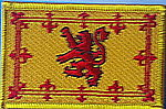 Scotland Rampant Lion Flag Patch, country patch, flag patch, embroidered patch