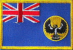 South Australia Flag patch, state flag patch south australia