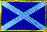 Scotland Flag Patch, Iron on patch scotland, St,Andrews cross flag patch