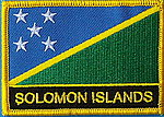 Solomon Islands Flag patch, country patch Solomon Islands