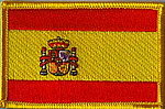 Spain flag patch, Country patch Spain