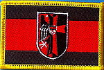 Sudetenland Flag Patch, Iron on patch, Sudetenland