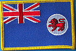 Tasmania flag patch, iron on patch, country patch state patch tasmania