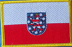 Thueringen Patch, country patch thueringen germany