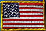 USA flag patch, United states of america flag patch, country patch usa
