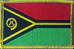 Vanuatu flag patch, country patch vanuatu, vanuatu flag patch, iron on patch, sew on patch vanuatu