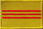 outh vietnam flag patch, country patch south vietnam