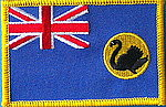 Western Australia flag patch, iron on patch Western Australia