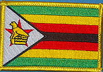 Zimbabwe flag patch, country patch zimbabwe