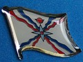 Assyria Flag Badge, Historical Pin, Lapel Pin, collect Novelty and Historical Flag Pins, Hat Pin, Anstecknadel Assyria,