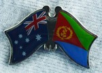 Twin Pin Australia/Eritrea, Crossed Pin, Double Pin Australia/Eritrea,