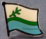 Labrador Flag Pin, Flag Badge Labrador, Canda Provincial Flag Pin,