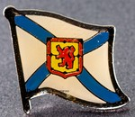 Nova Scotia, Canada State Province, Flag Badge Nova Scotia,