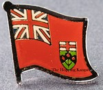 Ontario Pin, Lapel Flag Pin, Flag Badge Ontario, Canada Provincial  Lapel Pin,