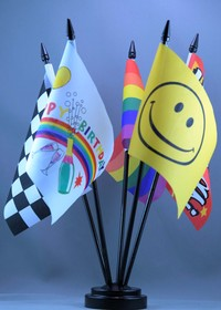 Desk flag, Novelty Flags, Message flags