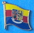 Friesland North Flag Pin, Flag Badge Friesland North, Hat Pin, Fun Pin, collect all pins,