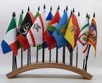 Italy Regional Table Flag, Desk Flag Display