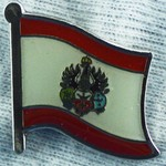 Koenigsberg Flag Pin 1906, historical Koenigsberg flag badge, collect historical pins and learn history to understand the present,