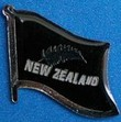Silverfern Flag Badge, support your sports team by wearing flag pin in your Lapel, collect all novelty flag pins, show off your collection at your next swop meeting,