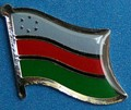 South Western Somalia, Flag Badge, Lapel Pin Historical, Collectors item flag pin,